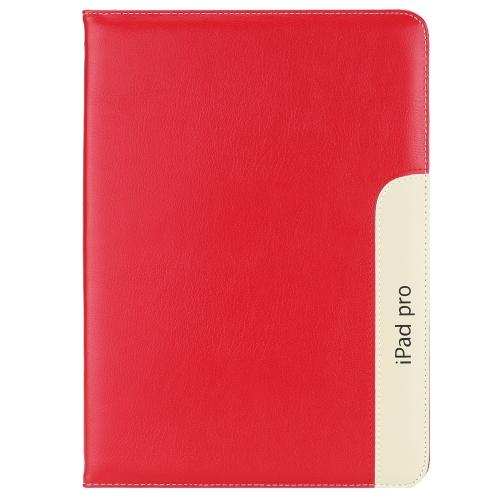 Moda PU couro Tablet capa Case Flip com Stand coldre dormir Wake Up função automático para Apple iPad Pro 12,9