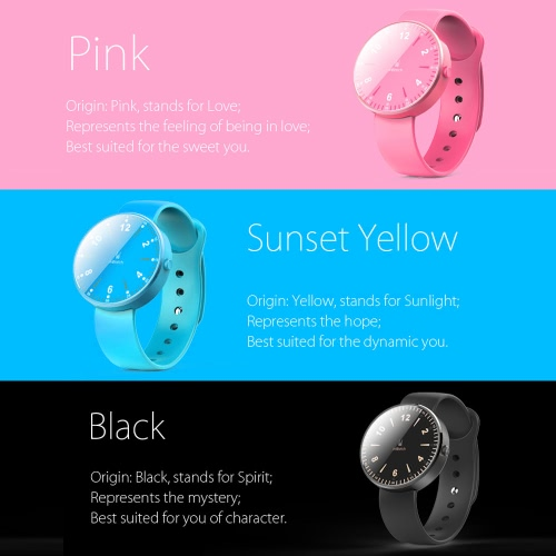inWatch Color Sport Pedometer Smart Watch Silicon Band BT 4.0 LED for iPhone Android Synchronous Incoming Call Sedentary Reminder Anti-lost for Android 4.3 iOS7 or above PA3423GR