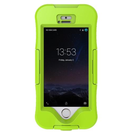 Moda impermeável pesado dever telefone caso Shell durável à prova de choque sujeira neve prova tampa telefone para iPhone 5 5S 5SE