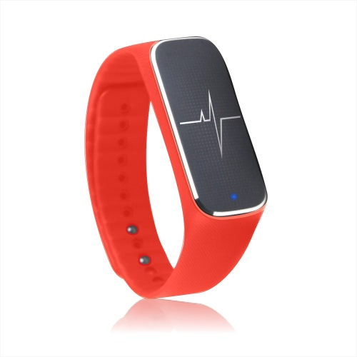 Incomm L18 Smart Bracelet Sport Activity Fitness Tracker Pedometer Wristband Heart Rate Blood Pressure Emotional Status Fatigue Level Bluetooth 4.0 for iOS Android APP Control