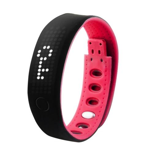B17 LED Smart bracelet sain Sports Bracelet imperméable à l'eau bande de poignet Caméra à distance BT rappel d'appel podomètre individualité Signature Calorie moniteur du sommeil Anti perdu Appel faux pour iPhone 6 6 s Plus Samsung S6 S7 Plus Smartphones iOS Android