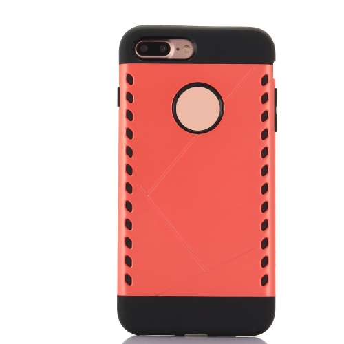 KKmoon Protective Back Case Bumper Shell Cover for Apple iPhone 7 Plus Smartphone