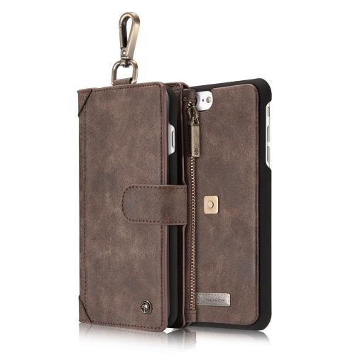 CaseMe 009 Caso carteira de volta 3-em-1 capa protetora para iPhone 7 Plus