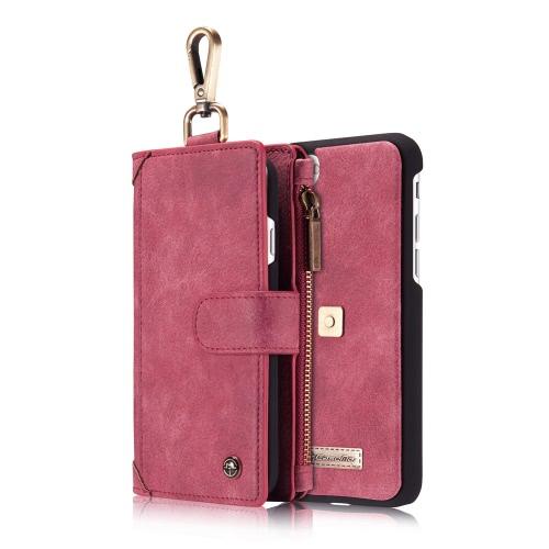 CaseMe 009 3-em-1 capa protetora carteira de volta para o iPhone 7
