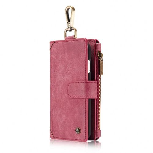 CaseMe 009 3-en-1 Housse de protection Portefeuille Case arrière