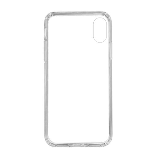 Caso de telefone celular transparente ultra-fino acrílico para IP8 Hard Shell
