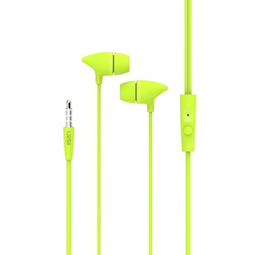 UiiSii C100 fone de ouvido com fio de alta performance com microfone com fones de ouvido potentes