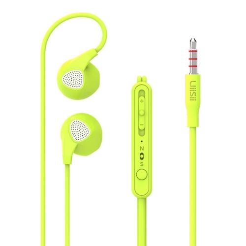 UiiSii U1 Fone de ouvido com fio Fones de ouvido intra-auriculares Fones de ouvido de 3.5mm Baixo pesado com microfone