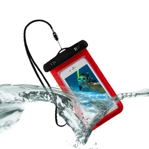 Caso seco do saco do telemóvel subaquático