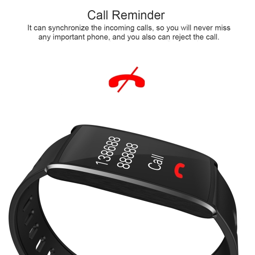 multi-functional ip67 waterproof fitness activity tracker smart bracelet with touch screen 0.96