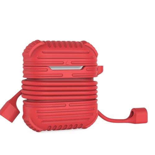 Защитный силиконовый чехол для Air Pods Protection Skin Red