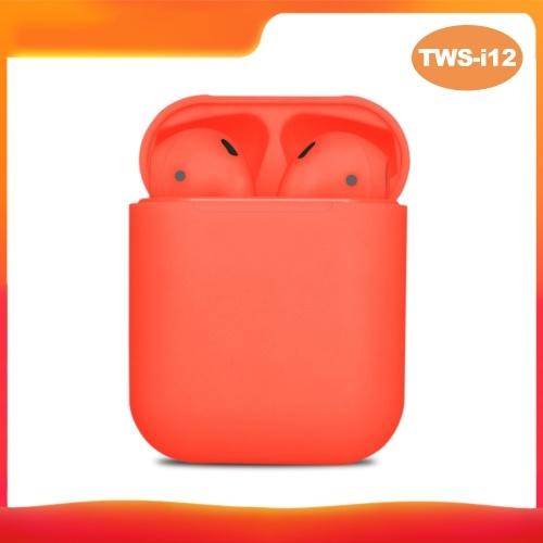 TWS-i12 BT5.0 Kabellose Ohrhörer Kopfhörer BT-Headset Mini-Stereo-In-Ear-Ohrhörer mit Ladekiste