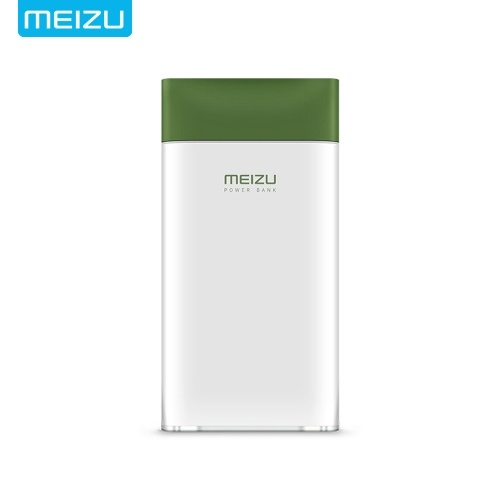 MEIZU M20 Power Bank 10000 mAh 24 Watt Blitz Schnellladung (grün)