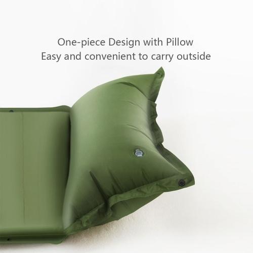 Xiaomi Zaofeng Outdoor Single Automatic Inflatable Cushion Sleeping Bag Camping Mat Fast Filling Air Moisture-proof Hiking Camping