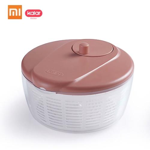 Xiaomi Kalar Waterlogging Cocina Vegetal Ensalada De Frutas Canasta Doble Capa Drenaje Para Remojo Limpieza Cocina