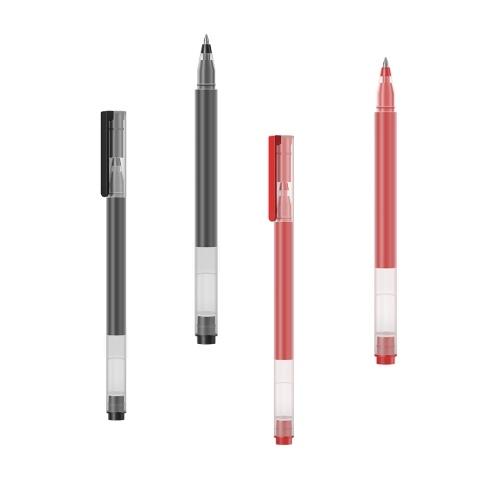 10 Шт. Xiaomi Гелевая Ручка Черный 0.5 мм Заправка Нейтральная Ручка Плавное Написание Подпись Ручка Студенческие Принадлежности Офис Канцтовары