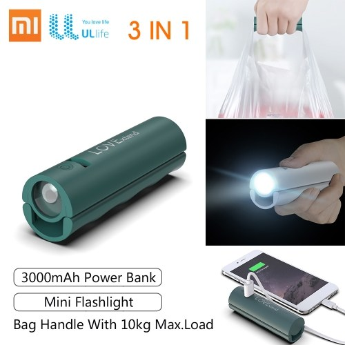 Xiaomi UL Life Power Bank Mini LED Light 3000mAh