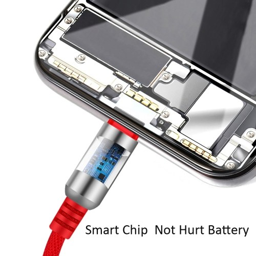 3-In-1 Charging Cable USB to Micro USB + Type C + Lightning Charging Cable Fast Charging Wire Mobile Phone Charging Adapter for iPhone iPad HUAWEI Xiaomi Samsung фото