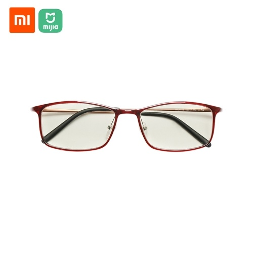 Xiaomi Mijia Anti-blue light Eye glasses Blue light blocking rate gold plastic mixed frame Eye protection for Men and Women Anti Blue Ray