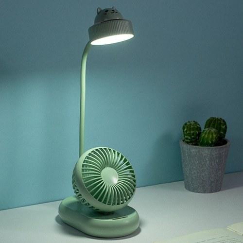 Multifunctional Desk Lamp Three Modes Fan
