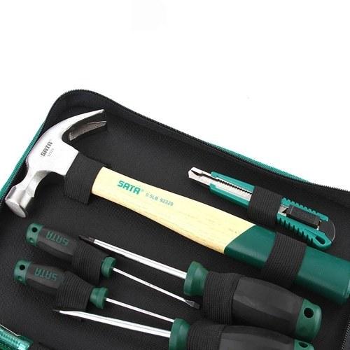 SATA 12pcs Home Repair Tool Kit Manual Hardware Tool Set DY06018