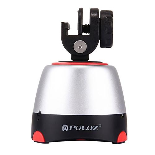 PULUZ Cabeça panorâmica com inclinação panorâmica com controle remoto Cubo de nuvem de rotação de 360 graus para câmera de DSLR GoPro de smartphone