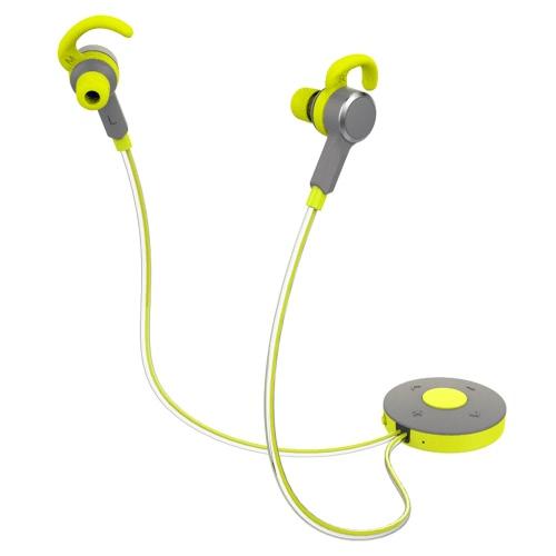 ROCK Lava Glow BT écouteurs haute qualité sonore Sport Courir Gym Anti-sueur BT V4.0 Luminous casque écouteurs pour iPhone 7 6 Plus Samsung iOS appareils Android