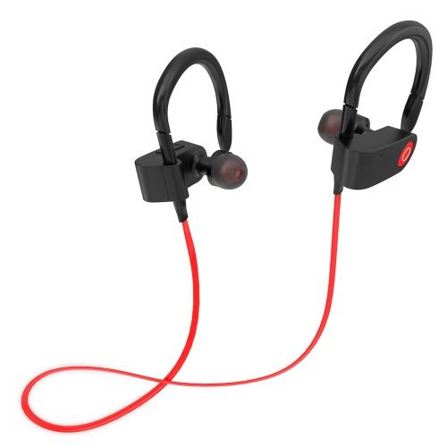 Fozento FT1 In-Ear Sans fil Sport Stéréo BT Casque Casque écouteur écouteur mains libres Paire / Off / On Recevoir / suspendre la musique Lecture / Pause Volume +/- pour iPhone 7 Plus Samsung S8