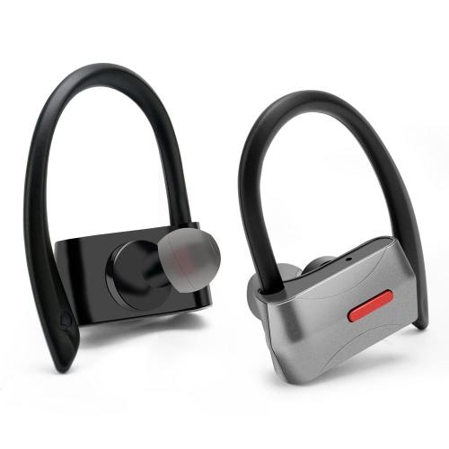 D02 Business Sport Fone de ouvido In-orelha sem fio estéreo BT4.1 Fone de ouvido de fone de ouvido mãos-livres Par / Off / On Receber / pendurar Música Reproduzir / Pausar para iPhone X Samsung S8 + Nota 8