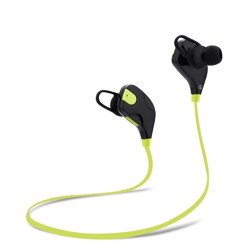 QY7S Business Sport Fone de ouvido In-ear sem fio estéreo BT4.1 Running Fone de ouvido para auscultadores Hands-free Pair / Off / On Receber / Pendurar Música Reproduzir / Pausar Volume +/- para iPhone X Samsung S8 + Nota 8
