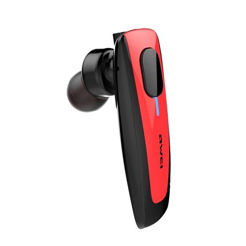 AWEI N3 Business Sport Fone de ouvido Estéreo intra-auricular BT4.1 Fone de ouvido com auscultadores Mãos livres Parar / Desligar / Ligar Receber / pendurar Reproduzir música / Pausa para iPhone X Samsung S8 + Nota 8