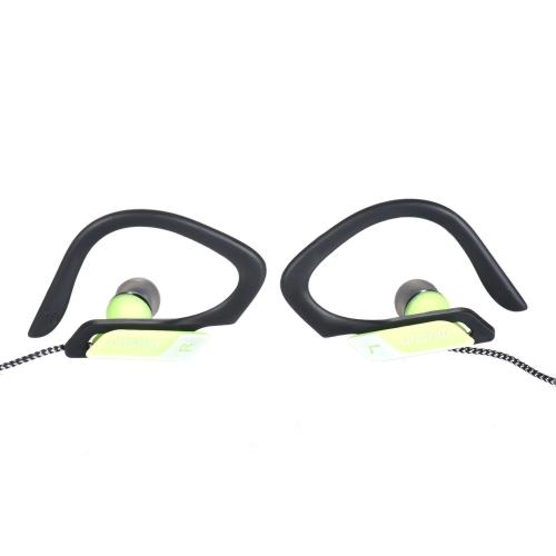 Musun E16 Esportes Auscultadores Universal 3.5mm Jack Fone de ouvido Design ergonômico Controle de botão de chamada mãos-livres Controle auditivo com fio para smartphones