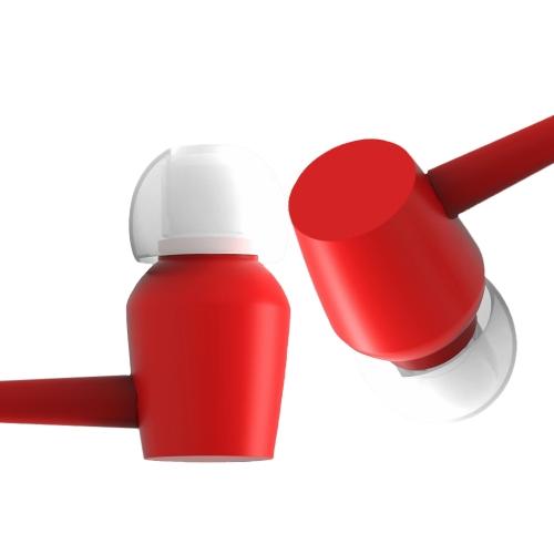 V2S BAYASOLO Fone de ouvido intra-auricular HiFi Som Fone de ouvido 3.5mm Jack Wired Earbud Hands-free Call for Smartphones