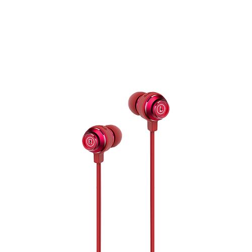 V10S BAYASOLO fone de ouvido intra-auricular estéreo 3.5mm Jack com fio Earbud controle de volume fone de ouvido mãos-livres para smartphones