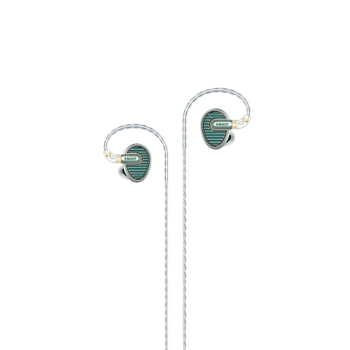 Original xgoomi simgot en700 mkii 3.5mm hi-res bass dinâmica de alta fidelidade de música monitor dj fone de ouvido