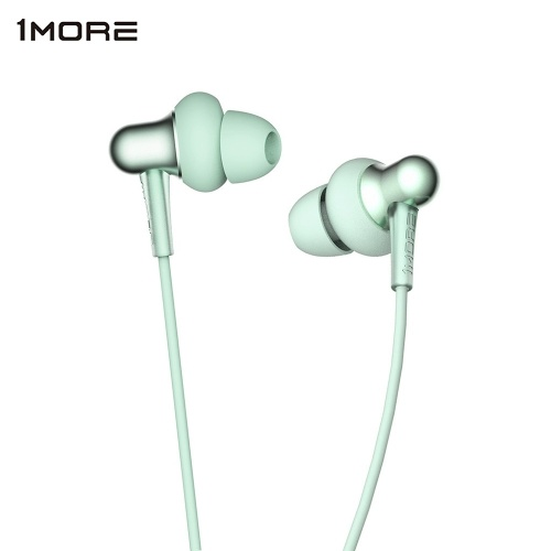 1MORE E1024BT Elegante Dual-dinamico Driver BT In-Ear Cuffie Colletto Auricolare Neckband Jaws Wireless BT4.2Headphone Neck Halter Style Music Headset Auricolare Hands-free per smartphone