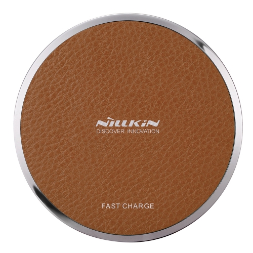 NILLKIN Magic Disk Ⅲ Carregador sem fio (Fast Charge Edition) Qi Standard Chip inteligente Enengy Saving Safety Protection Carregador rápido sem fio para iPhone 8 X Samsung Galaxy S8 Nota 8
