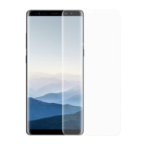 Protetor de tela de vidro temperado com arco 2,5D para 6,3 polegadas Samsung Galaxy Note 8 Cobertura total do corpo Pele Protetor de telefone Capa de filme HD Anti-scratch Anti-dust Durable