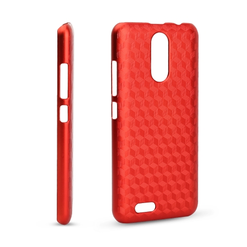 OCUBE Rhombic Lattice Phone Case for 5.5-Inch OUKITEL C8 Hard Plastic Protective Phone Cover Anti-scratch Anti-shock