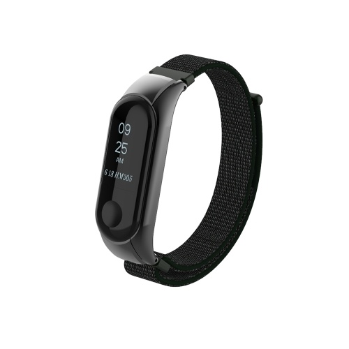 Band Strap Watch Strap Nylon Watch Release Buckle Replacement Sport Bracelet Strap Replacement for XIAOMI MI Band 3