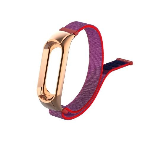 Band Strap Watch Strap Nylon Uhr Release Buckle Ersatz Sport Armband Strap Ersatz für XIAOMI MI Band 3