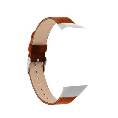 Genuine Leather Band Soft Replacement Wristband Leather Smart Watch Strap No Gaps Watch Belt for Men Women Replacement for HONOR Band 6