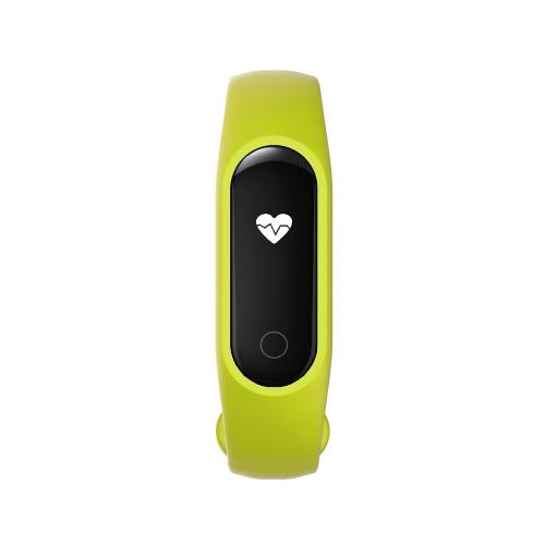 OUKITEL A16 inteligente Banda 0.42inch OLED tela de diálogo DA14580 CPU BT V4.0 60mAh bateria IP54 impermeável Vibration Hot Spot sensor de pulsações inteligentes Calorias Sports Banda pulseira pedômetro Heart Rate Monitor de sono chamada de lembrete de pulso banda Distância para o iPhone 7 6S 6 Plus Samsung S6 S7 Além disso Xiaomi Huawei iOS Android Tablets Smartphones