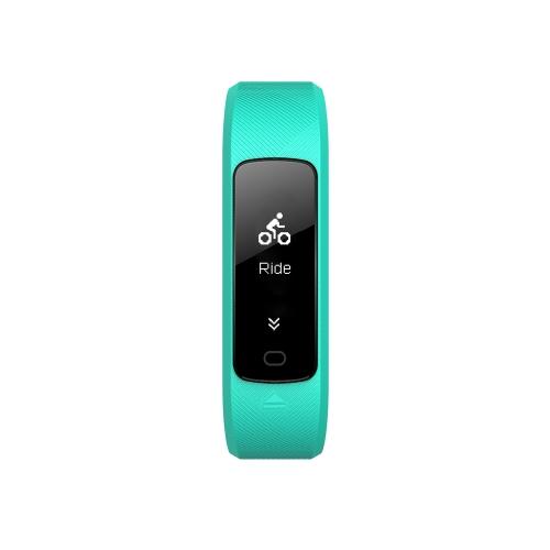 SMA B2 Smart Band 3ATM Taxa cardíaca resistivadora de água Controlador de pressão sanguínea Rastreador de esportes Alarme Lembrete sedentário Pulseira inteligente anti-perdas 80mAh