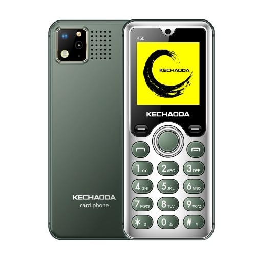 KECHAODA K50 2G GSM Функциональный телефон с двумя SIM-картами 1,54 дюйма 32MB BT Dialer Фонарик с задней камерой MP3 / MP4 / FM Мини-мобильные телефоны для детей пожилого возраста