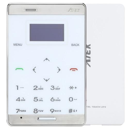 AIEK M3 Mini Telefone Inteligente Comercial de GSM GPRS OLED Tela Discagem de Retroiluminado Suporta Lista Telefônica Registro Texto MP3 Música Rádio Anti-perda Alarme Conversação Espera de Longo Tempo Moderno Durável