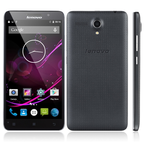 Lenovo A616 4G FDD-LTE TD-LTE 3G WCDMA スマートフォンAndroid 4.4 OS クアッドコア MTK6732M 5.5