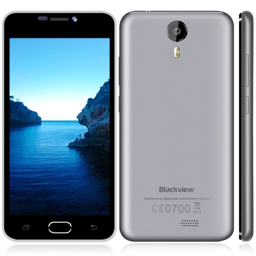 Blackview BV2000 4G FDD-LTE 3G WCDMA Smartphone Android 5.1 OS Quad Core MTK6735 5.0
