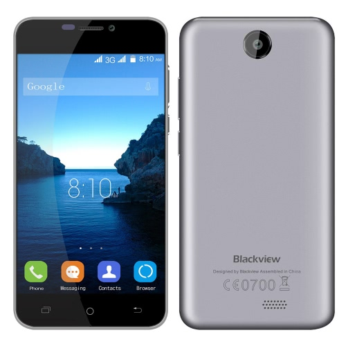 Blackview BV2000S 3G WCDMA Smartphone Android 5.1 OS Quad Core MTK6580 5.0