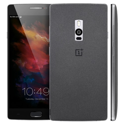 OnePlus 2 due 4G LTE 3G WCDMA TD-SCDMA Smartphone Android OS Qualcomm Snapdragon 810 64bit Octa Core 5.5